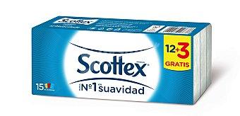 Scottex Pañuelos de papel Paquete 15 unid