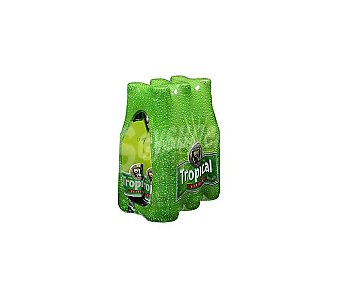 Tropical Cerveza Pilsen Pack 6 botellines x 25 cl