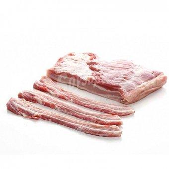 Carrefour Panceta de cerdo filetes 400 g aprox Bandeja de 400.0 g. aprox