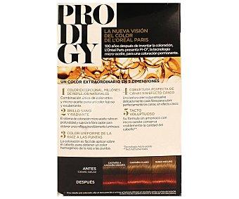 PRODIGY de L'ORÉAL Tinte sin amoniaco color cayena castaño rojizo muy claro Nº 6.60 1 unidad