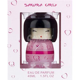 SAKURA Girly eau de parfum femenina Frasco 45 ml