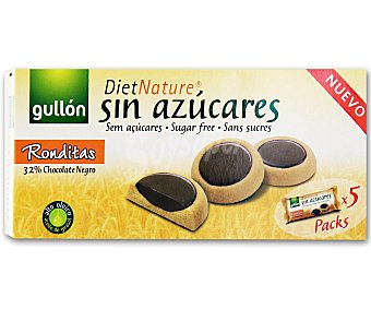 Gullón Galletas ronditas diet nature 186 g