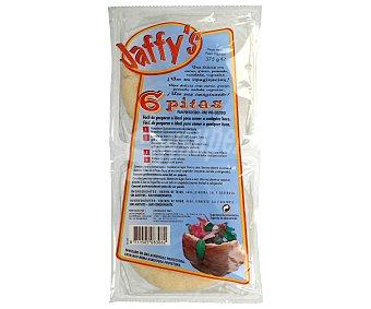 Jaffy's Pan pita 6 unidades (375 g)