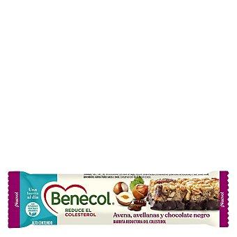 Kaiku Benecol Barrita de avena, avellana y chocolate negro Unidad 40 g