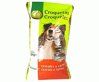 Productos Económicos Alcampo Comida Seca para Perro. Croquetas Saco de 20 Kilogramos