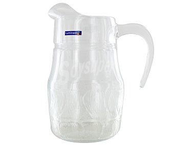 LUMINARC Jarra de vidrio modelo Flor, con capacidad de 1,3 litros 1 Unidad
