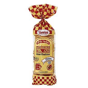 DAVEIGA Mariñeiras Crackers con mantequilla Bolsa 200 g