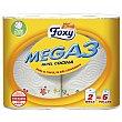 Rollo de papel de cocina de tres capas 2 uds FOXY Mega 3