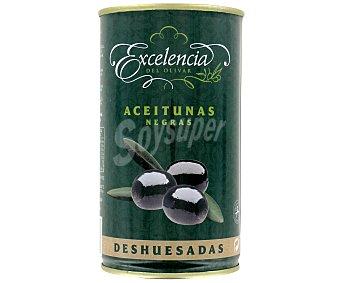 Excelencia Aceitunas negras sin hueso 150 gramos