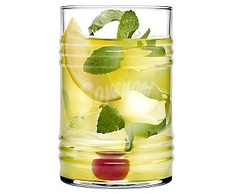 J. bellido Vaso de vidrio con capacidad para 0,49 litros, modelo Bidon Premium 1 unidad