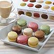 Mini Macarons surtidos 12 unidades Carrefour