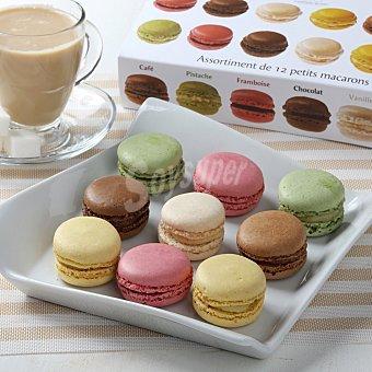 Carrefour Mini Macarons surtidos 12 unidades