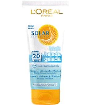 Solar Expertise L'Oréal Paris Leche solar hidratación efecto helada factor de protección 20 Tubo de 200 ml