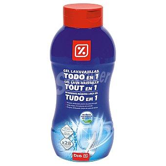 DIA Lavavajillas máquina gel todo en uno bote 720 ml Bote 720 ml