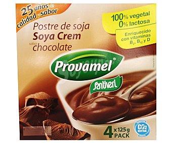 Provamel Postre soja chocolate 4x125g