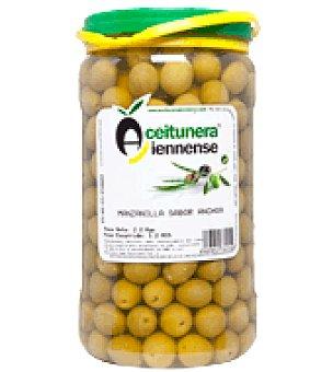 Aceitunera Jiennense Aceituna manzanilla sabor anchoa 1,2 kg