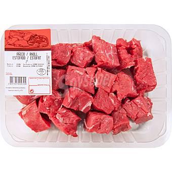 Gourmet Añojo carne magra/ragout en trocitos para guisar peso aproximado Bandeja 500 g