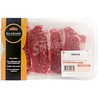 RAL D'AVINYO Presa fresca de cerdo peso aproximado Bandeja 200 g