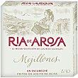 ría de Arosa mejillones en escabeche fritos en aceite de oliva grandes 8-10 piezas Lata 69 g Conservas Ortiz