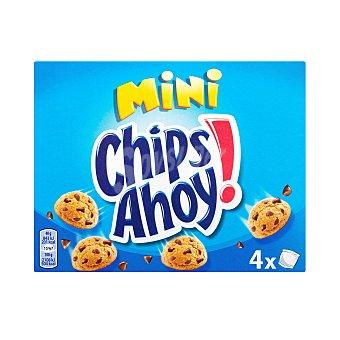 Chips Ahoy Galleta mini con pepitas de chocolate Pack 4 bolsitas x 40 g - 160 g