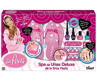 DISET Conjunto de Belleza, Spa de Uñas de la Señorita Pepis 1 Unidad
