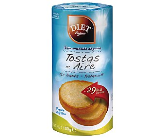 Diet Rádisson Tostas de aire Paquete 100 g