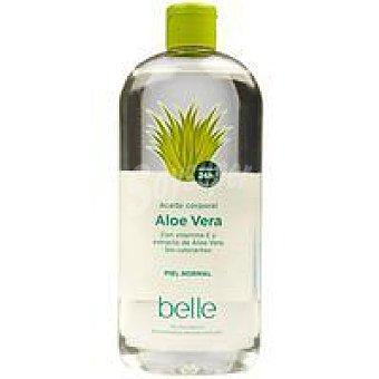 Belle Aceite corporal aloe vera Bote 400 ml