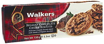 Walkers Galleta choco Chunk Paquete 150 g