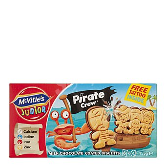 McVities Galletas con chocolate infantil 150 g