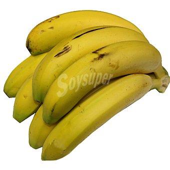 Plátanos ecológicos peso aproximado bandeja 700 g