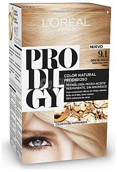 L'Oréal Paris Coloración Permanente 9.10 Oro Blanco de Prodigy 5 1 ud
