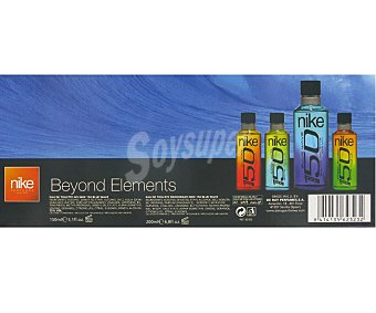 NIKE Blue Wave Estuche Colonia Hombre vaporizador+desodorante Pack 150 Mililitros+200 Mililitros