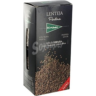El Corte Inglés Lenteja pardina extra envase 500 g 2 x 250 g