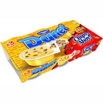 Danet Danone Krujit de vainilla chips Pack 3x118g