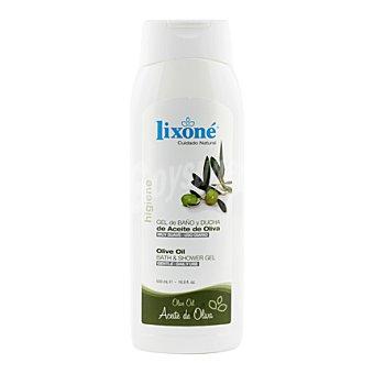 Lixone Gel de baño-ducha con aceite de oliva virgen Bote 500 ml