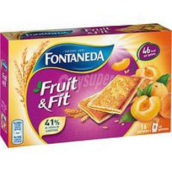 FONTANEDA Galleta fruit&fit albaricoque 197 g