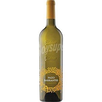 PAZO BARRANTES Vino blanco Albariño D.O. Rías Baixas Botella 75 cl