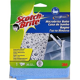 Scotch Brite Bayeta de microfibra 30x32cm Pack 1 unid
