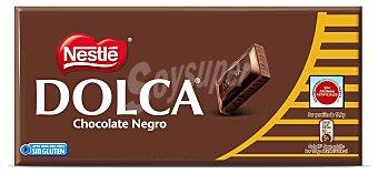 Dolca Nestlé Chocolate negro sin leche Tableta 125 g