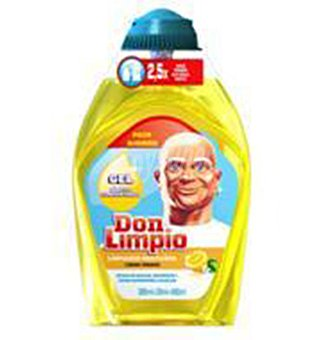 Don Limpio Limpiador limon con 380+ 20 ML