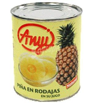 Anyi Piña en almibar 500 g
