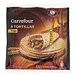Tortillas de trigo natural 'tex Mex' 340 g Carrefour