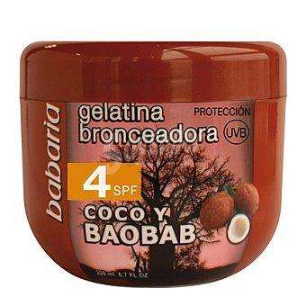 Babaria Gelatina bronceadora de coco y baobab FP 4 200 ml