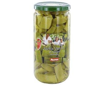 Auchan Judías Verdes Anchas Frasco 360 gramos peso escurrido