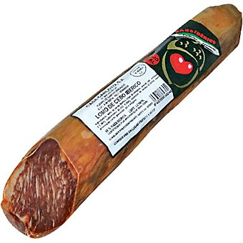 Sano iberico Lomo de cebo iberico 50% raza iberica peso aproximado pieza 600 g 600 g