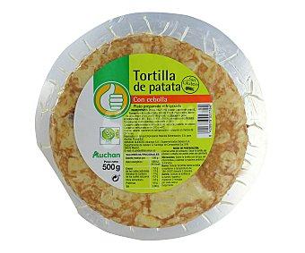 Productos Económicos Alcampo Tortilla de patata con cebolla 500 gramos