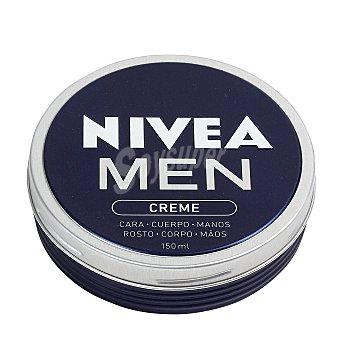 Nivea For Men Crema para cuerpo cara y manos  Lata de 150 ml