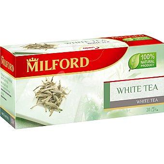 Milford té blanco 20 bolsas Estuche 63 g