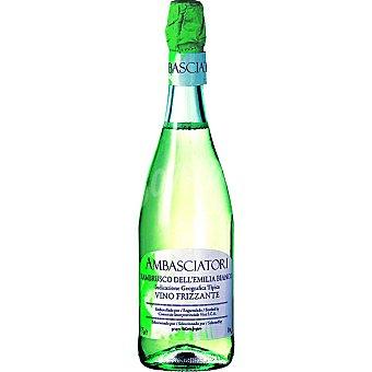 AMBASCIATORI Vino blanco Lambrusco elaborado para grupo El Corte Inglés Botella 75 cl