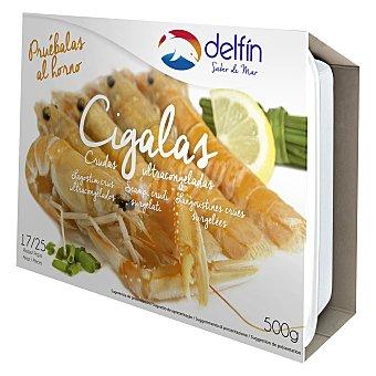 Delfín Cigalas crudas 17/25 500 g